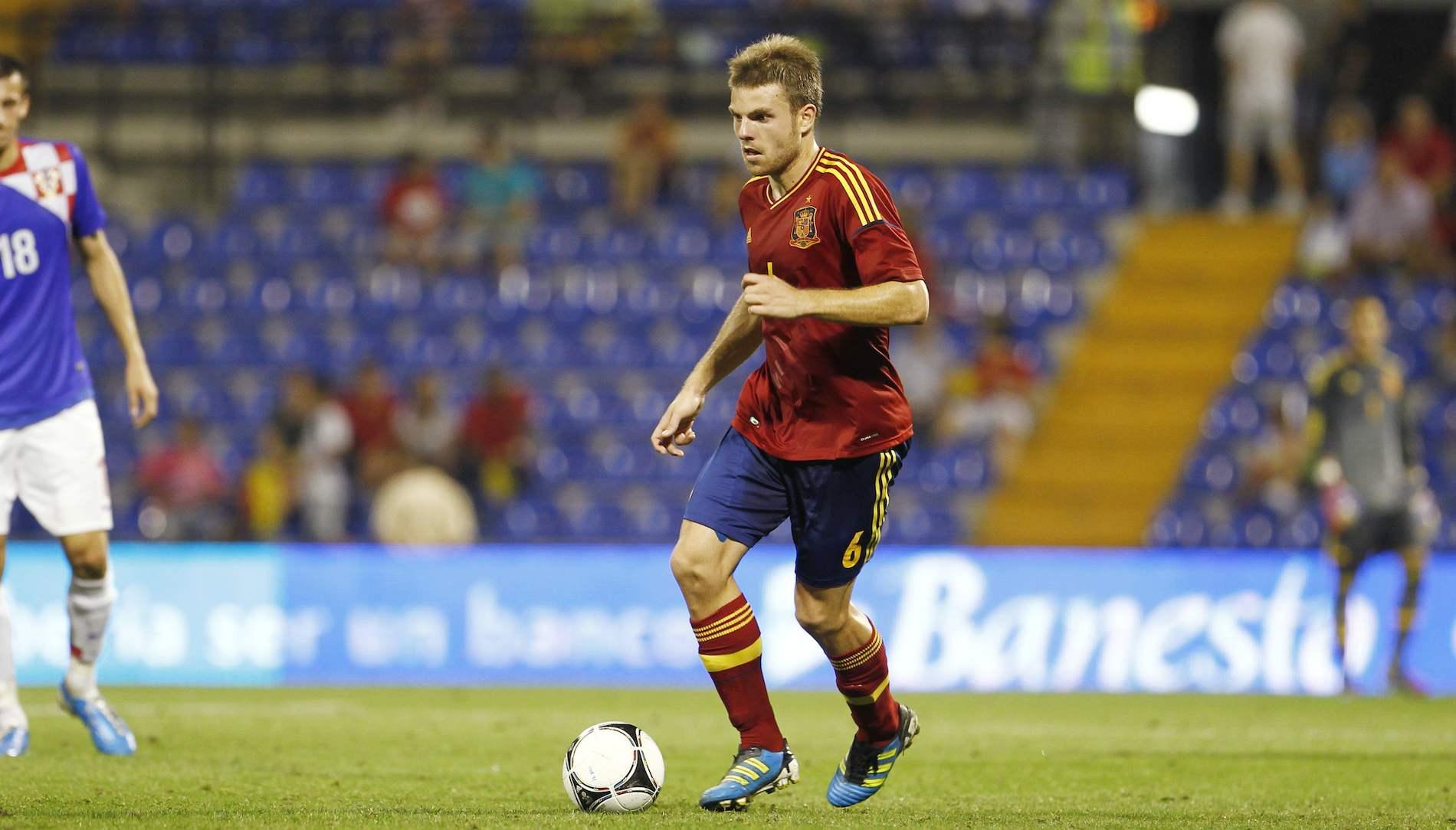 España 6 – Croacia 0, fase de clasificación para el Europeo de Israel 2013 (10-09-12)