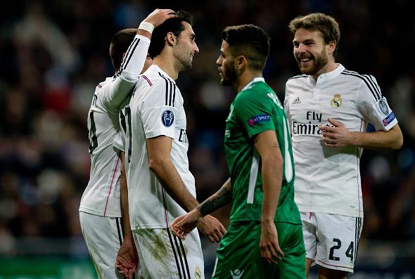 Real Madrid 4 - Ludogorets Razgrad 0 (09-12-14) Champions League