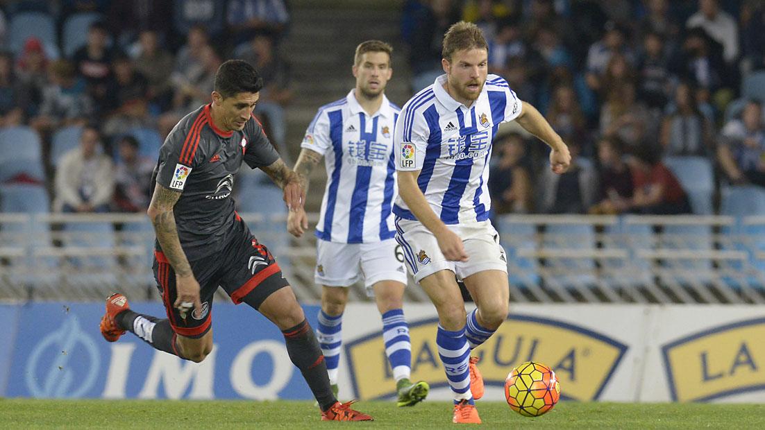 Real Sociedad 2 - Celta de Vigo 3 (31-10-15) Primera división