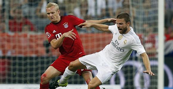 Un gol tardío arrebata la Audi Cup (0-1)
