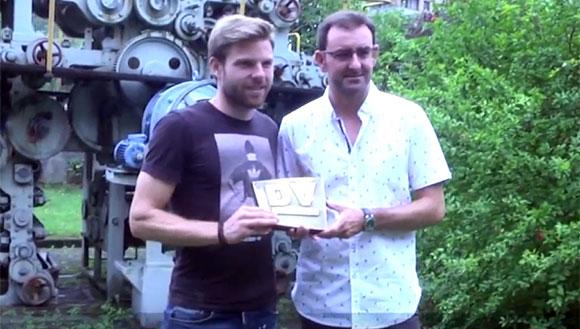 """Illara recibe el DV de Oro: """"Este premio es un orgullo"""""""