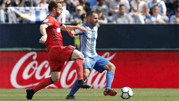 Tropiezo en La Rosaleda (2-0)