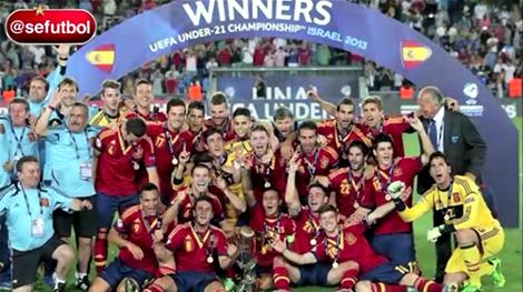 Illarra se proclama Campeón de Europa Sub-21 en Israel (18-06-13) Sefutbol TV