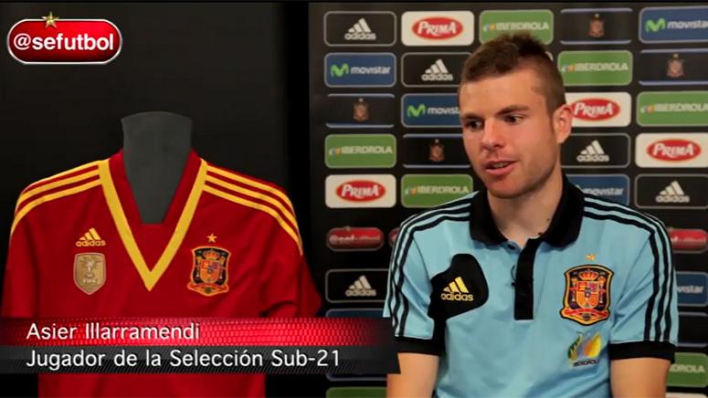 Entrevista a Asier Illarramendi previa al Europeo de ISrael Sub-21 (09-06-2013) Sefutbol...