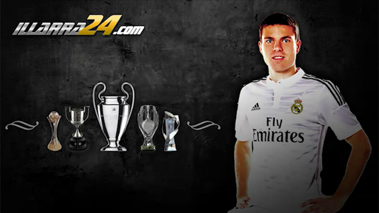 Real Madrid mifielder unveils his new personal website (www.illarra24.com) and social...
