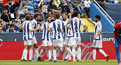 Gol de Illarra (0-3). Levante U.D. 0 - Real Sociedad 4 (25-10-15) Primera división