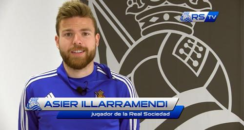 La afición selecciona a Illarra a través de Twitter como mejor jugador de la temporada 15-16 (19-05-16) RSTV