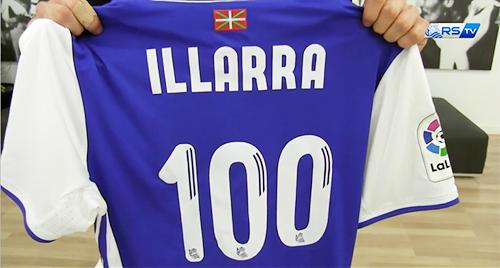 Illarra, a un paso del centenario, valora sus 99 partidos con la Real Sociedad (18-10-16) RSTV