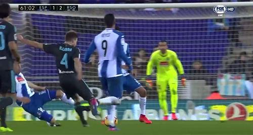 Illarra decide con un golazo el Espanyol 1 - Real Sociedad 2 (11-02-17) Primera división