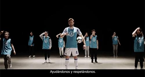 Illarra participa en la 'haka' guipuzcoana contra la violencia en el deporte (11-04-18)
